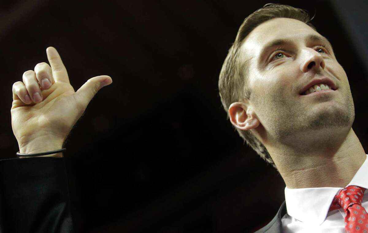 Kingsbury graduated from Texas Tech in 2001 with a bachelor's degree in management.