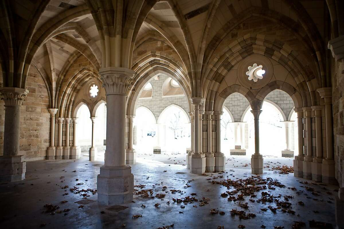 The Chapter House of Ovila, built in 1500s Spain, has been rebuilt at California's Abbey of New Clairvaux.