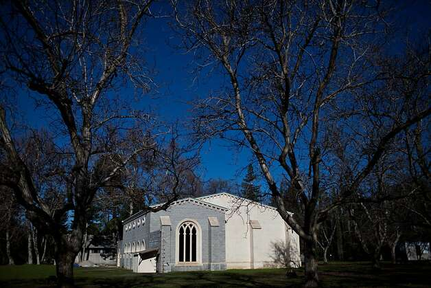 "The New Clairvaux Abbey ""chapter house"" in Vina, Calif. is made from 800-year-old-stones from a Spanish medieval monastery. Photo: Max Whittaker/Prime, Special To The Chronicle"