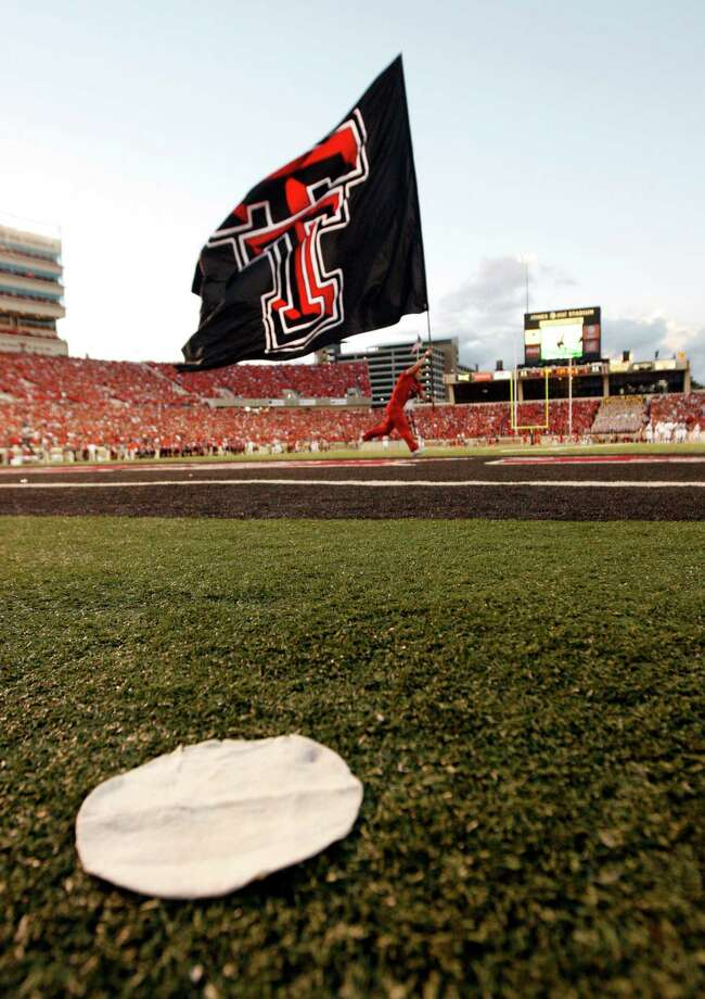 Texas Tech officials are hoping that enthusiasm for the Red Raiders grows to the point that Jones Stadium can eventually be expanded to seat 70,000. Photo: MICHAEL AINSWORTH/Staff Photogra / 10005145A