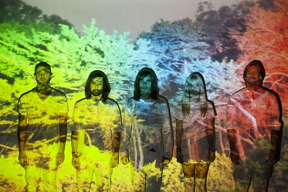 """Los Angeles band Youngblood Hawke is attracting attention with its debut single, """"We Come Running"""" - and the song's shark-infested video. Photo: Bmi"""