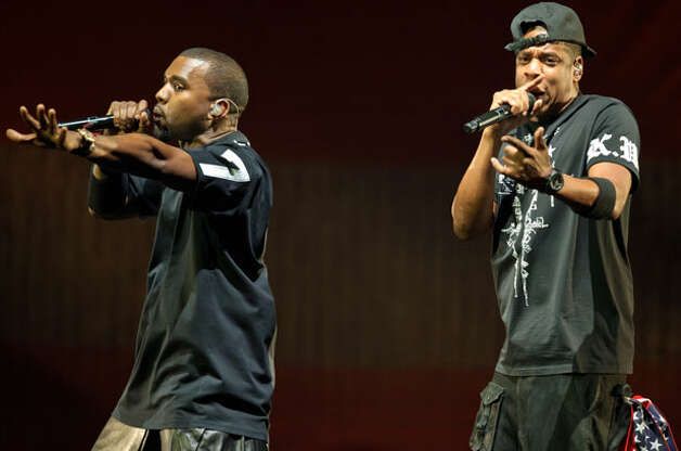 Highest-Grossing Tours - 9. Kanye West and Jay-Z | Total Gross: $47 million | Number of Shows: 31 | Total Attendance: 371,777 Photo: Kyle Gustafson / Kyle Gustafson