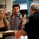 Bounty Hunter (2010): Two hours of Gerard Butler abusing Jennifer Aniston -- it was supposed to be funny.