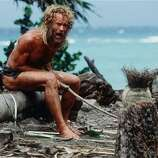 Castaway (2000): A series of great slapstick bits, intended as drama.