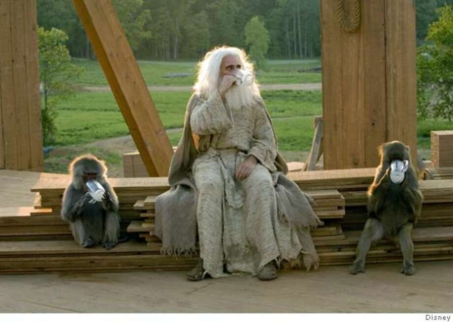 Evan Almighty: Unfunny movie with Steve Carell as Noah.