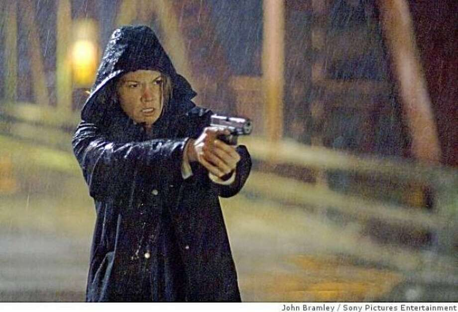 Untraceable:  Diane Lane as a cop who spends most of her time helplessly watching people getting murdered online.