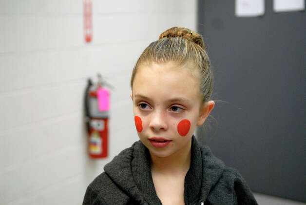 Grayson Kelley, 10, prepares to take the stage as a soldier in the New York City Ballet's Nutcracker at Lincoln Center in New York, NY, Dec. 20, 2012. Photo: Keelin Daly / Stamford Advocate Riverbend Stamford, CT