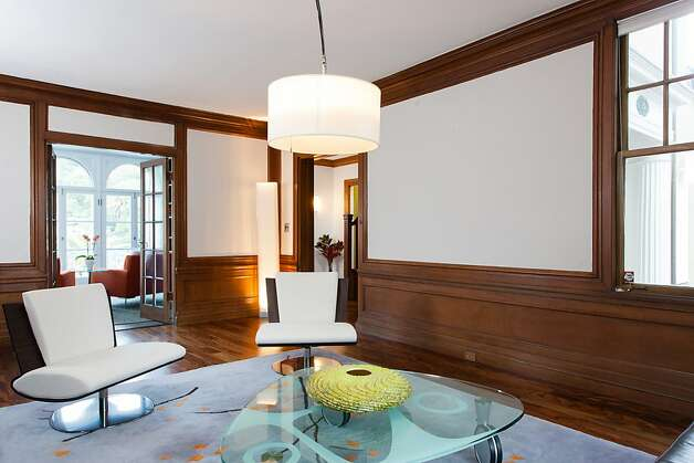 The five-bedroom, four-bedroom home was designed by Willis Polk. Photo: Peter Lyons/Peter Lyons Photogra