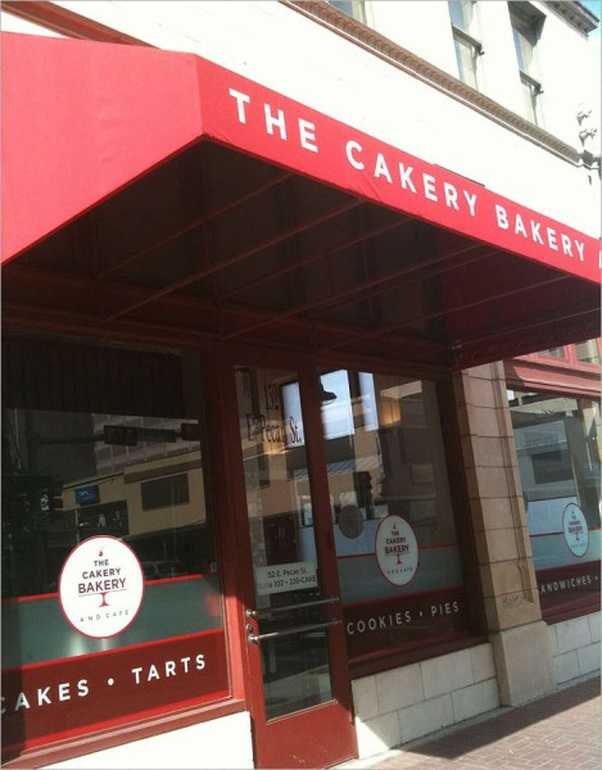 Cakery Bakery , 152 Pecan St., featured outstanding house-made pop tarts and an array of sandwiches that were fine but not on the same level as the desserts.