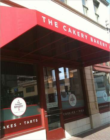 Cakery Bakery, 152 Pecan St., featured outstanding house-made pop tarts and an array of sandwiches that were fine but not on the same level as the desserts. Photo: Benjamin Olivo/Express-News