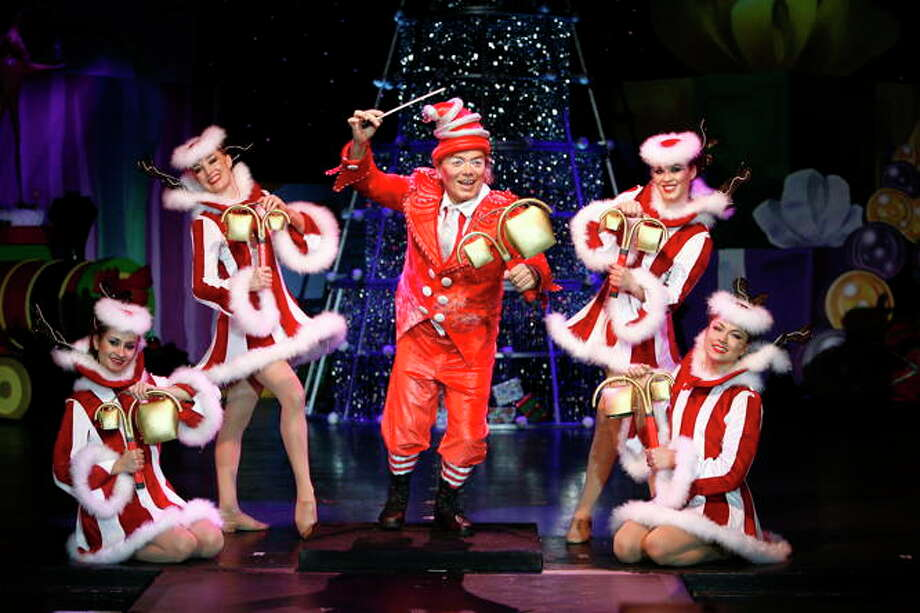 CIRQUE PRODUCTIONS Cirque Dreams Holidaze, which comes to Proctors this weekend, is filled with comic, theatrical and athletic feats that celebrate the holiday spirit.