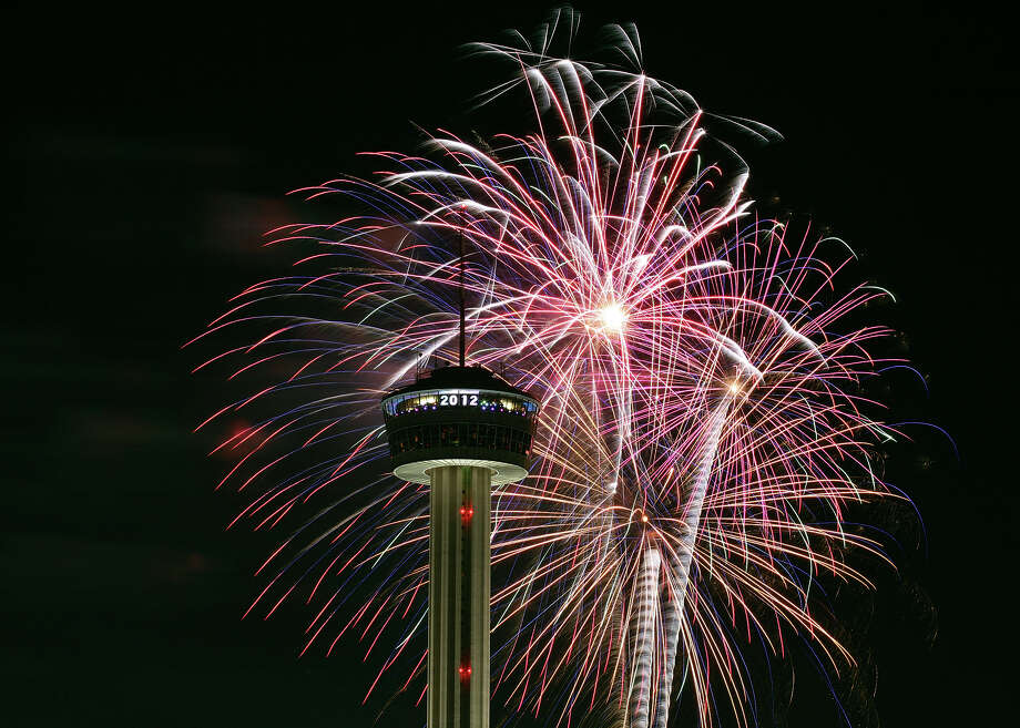 The downtown celebration is a tradition, but many San Antonians are finding quieter, more personal ways to welcome 2013. Photo: Express-News File Photo / SAN ANTONIO EXPRESS-NEWS (NFS)