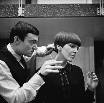 Vidal Sassoon, who became the most famous hairdresser of the late 1950s and 1960s, died in May of natural causes. He was 84. Sassoon is credited with transforming women's hair with his architectural, geometric wash-and-wear cuts that freed women from piled-high sprayed styles. Photo: Ronald Dumont, Stringer / Hulton Archive