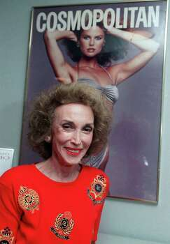 "Helen Gurley Brown, editor-in-chief of Cosmopolitan's 64 international editions, died in August at 90. Her impact on fashion, popular culture and society reached around the world, first with her 1962 bestseller, ""Sex and the Single Girl,"" and then for more than three decades with her personal stamp on Cosmopolitan. Photo: MARTY LEDERHANDLER, STF / AP"