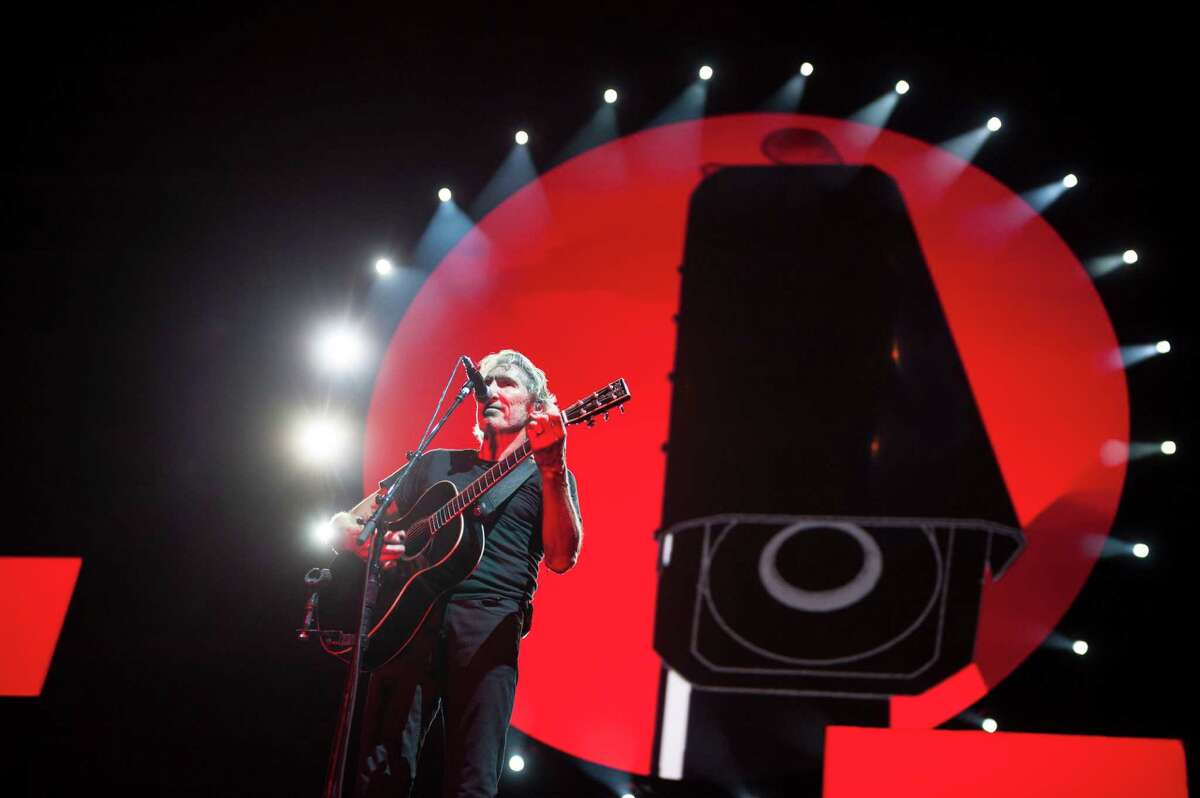 Roger Waters performs The Wall at Yankee Stadium. (Corey Sipkin/New York Daily News)