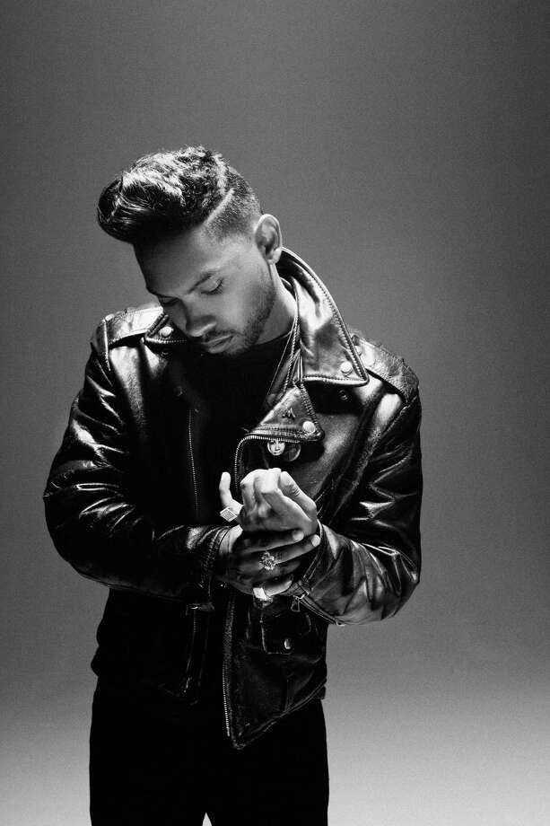 R&B singer Miguel. Photo: Photographer: Timothy Saccenti