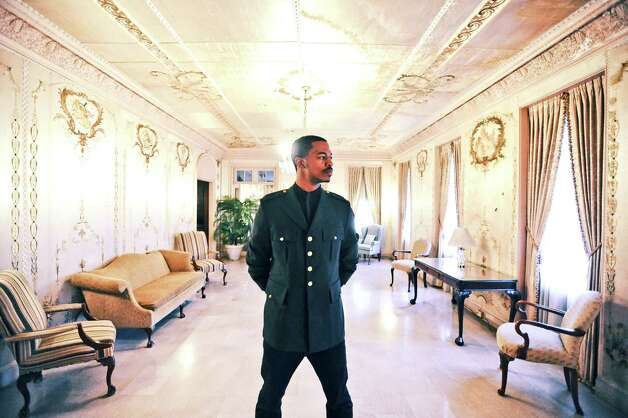 Bryan Harris styled by Grace Mathis at the Phelan Mansion in Beaumont on Wednesday, November 7, 2012. Photo taken: Randy Edwards/The Enterprise