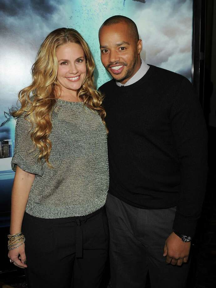 "Married: Cacee Cobb and ""Scrubs"" star Donald Faison married December 15 at a private residence in Los Angeles.  Photo: Jason Merritt, Getty Images / 2010 Getty Images"