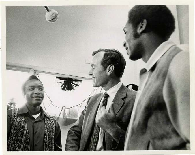 PHOTO FILED: GEORGE HW BUSH.  04/02/1970 - U.S. Rep. George Bush, Republican candidate for the U.S.