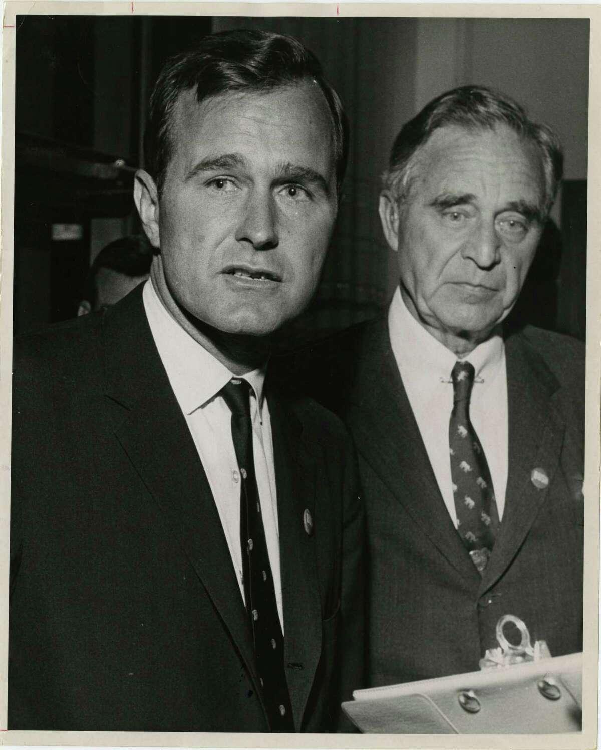 1950: Prescott's failed Senate bid Prescott Bush, father of George H.W. Bush, lost his first race for a Connecticut Senate seat to Democrat William Benton.