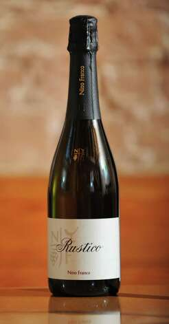 A bottle of Nino Franco Rustico Prosecco which was taste tested at the Wine Bar on Lark St. on Wednesday Dec. 12, 2012 in Albany, N.Y.  (Lori Van Buren / Times Union) Photo: Lori Van Buren