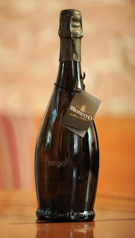 A bottle of Mionetta Sergio Prosecco which was taste tested at the Wine Bar on Lark St. on Wednesday Dec. 12, 2012 in Albany, N.Y.  (Lori Van Buren / Times Union) Photo: Lori Van Buren