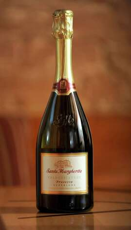 A bottle of Santa Margherita Prosecco which was taste tested at the Wine Bar on Lark St. on Wednesday Dec. 12, 2012 in Albany, N.Y.  (Lori Van Buren / Times Union) Photo: Lori Van Buren