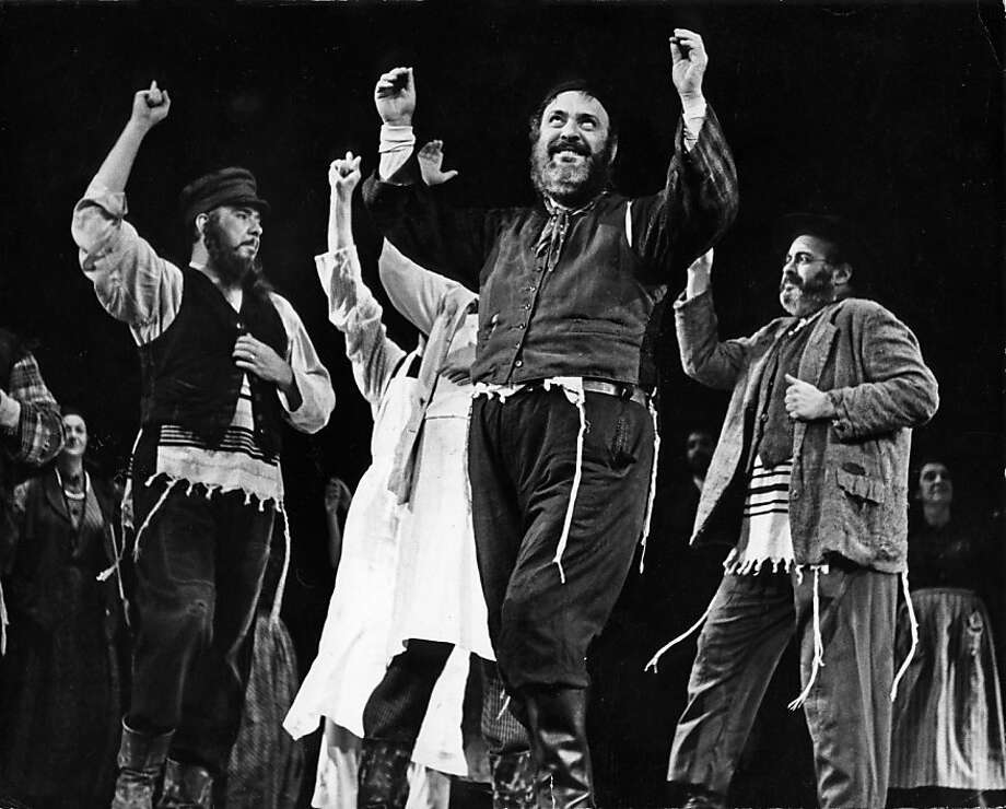 """Fiddler on the Roof"" clearly identified a Jewish story for Broadway. Photo: Photofest, Inc., PBS"