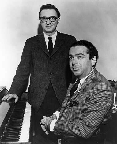 "Lyricist Sheldon Harnick and composer Jerry Bock wrote the hit musical ""Fiddler on the Roof"" in 1964. Photo: Photofest, Inc., PBS"