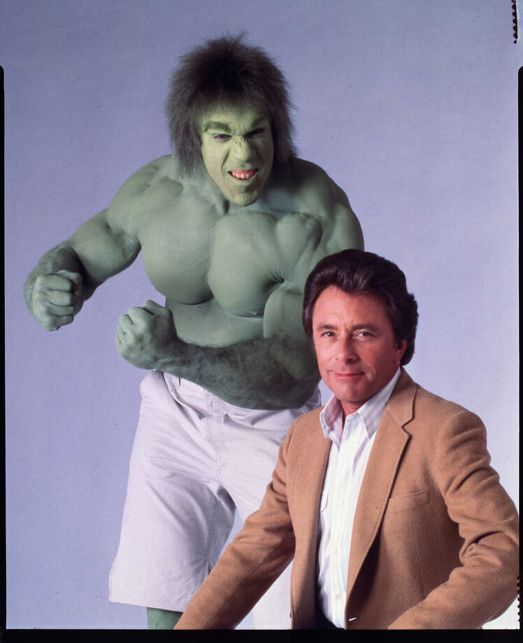 "In the ""The Incredible Hulk"" TV series Bruce Banner falls to his death in the finale.  Photo: NBC / handout"