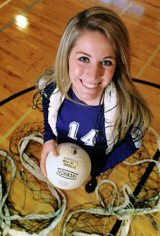 Port Neches-Groves' volleyball player Lauren Lovejoy is the Super Gold Team MVP for 2012. Photo taken Thursday, December 20, 2012 Guiseppe Barranco/The Enterprise Photo: Guiseppe Barranco, STAFF PHOTOGRAPHER / The Beaumont Enterprise