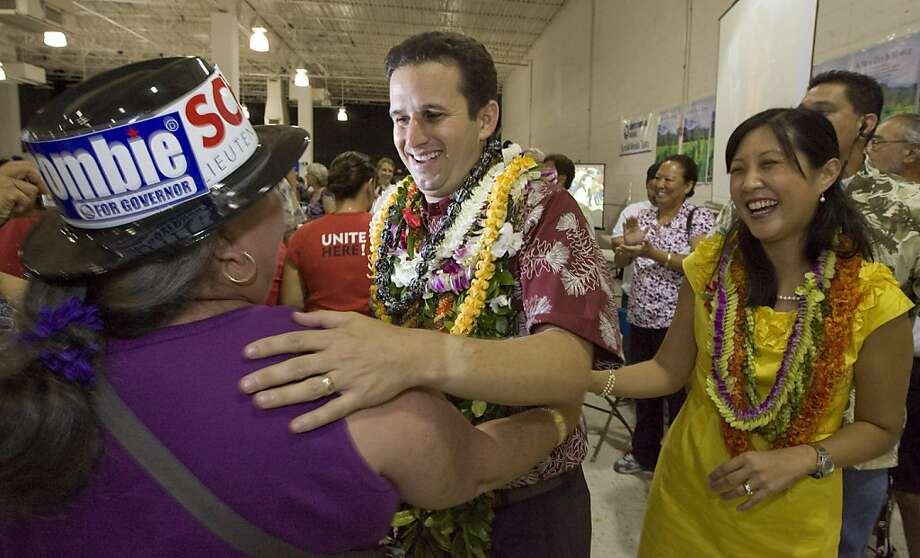 Brian Schatz, one of three candidates, will serve in the U.S. Senate until an election is held in 2014. Photo: Eugene Tanner, Associated Press