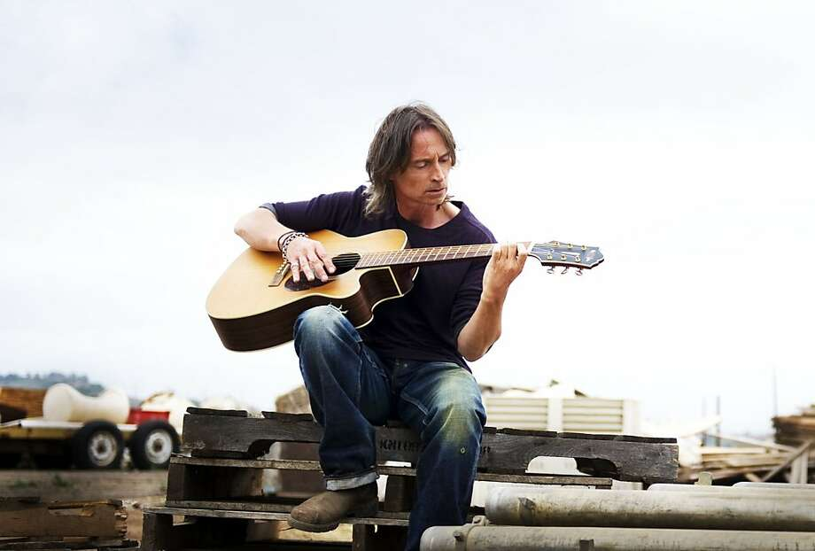 "Robert Carlyle in ""California Solo"" portrays a former rock star living a middling existence. Photo: Strand Releasing"