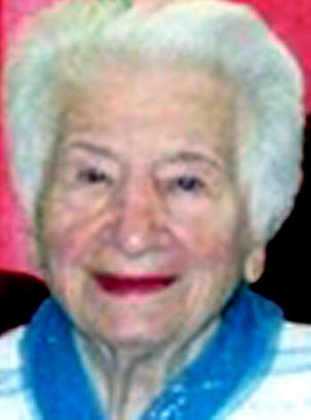 "Feliciana ""Fanny"" Valenti, 96, of Danbury, widow of Frank Valenti, died Dec. 20, 2012, at Danbury Health Care Center.She was born in New York City, a daughter of Vito and Teodora DiGiacomo. Photo: Contributed Photo"