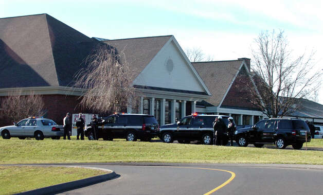 A funeral was held for Sandy Hook Elementary School student Allison Wyatt at Sacred Heart Roman Catholic Church in Southbury Conn. on Thursday December 20, 2012. Photo: Christian Abraham / Connecticut Post