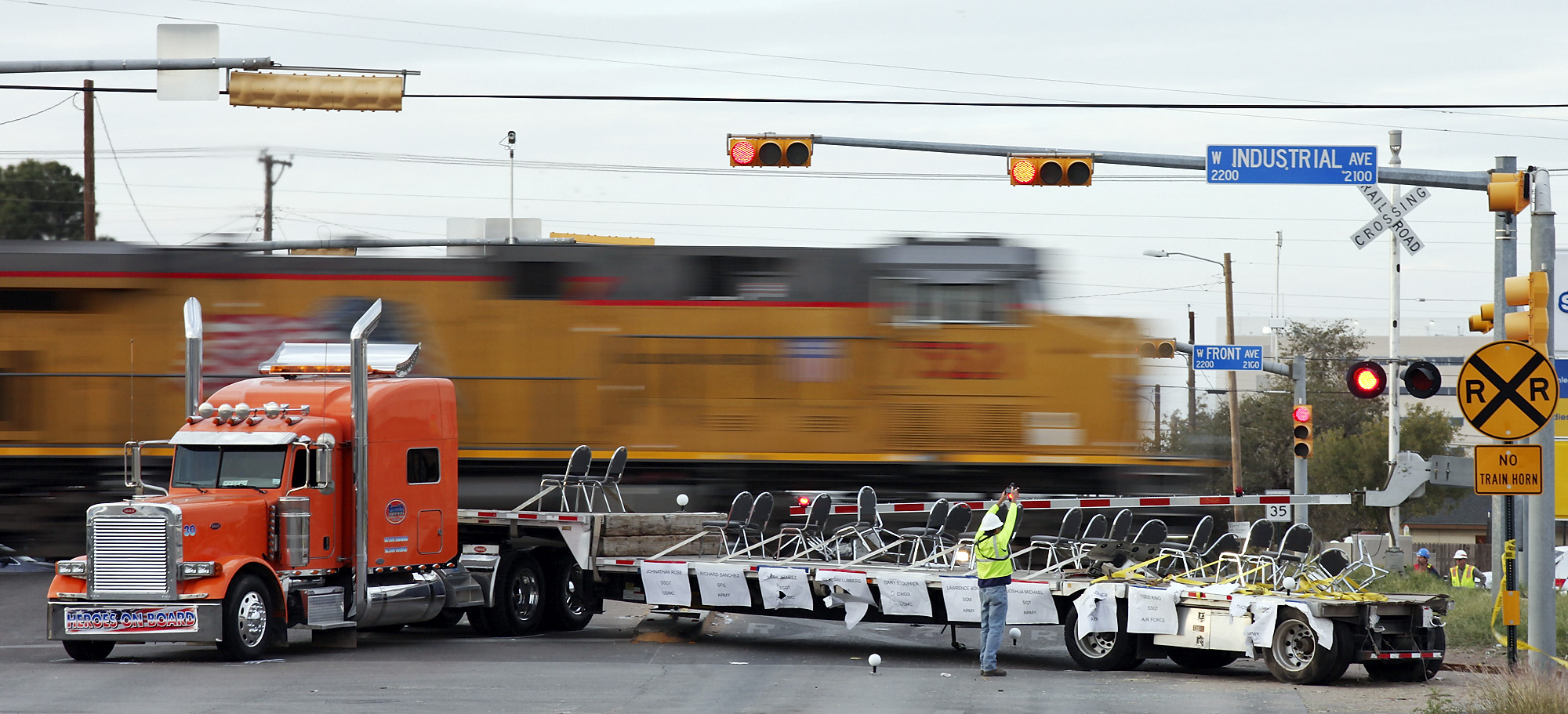 Grand jury to hear midland train crash case san antonio for Showcase motors san antonio