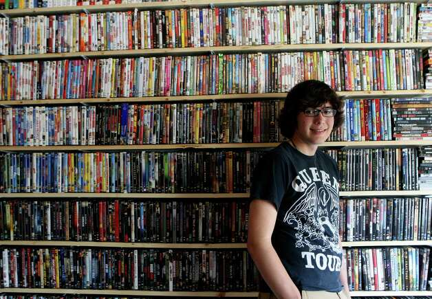 Shane Leal-Willett, 18, is an aspiring film director. He recently won best in show at the Josiah Media Festival for his film The Associate. Photo: Helen L. Montoya, San Antonio Express-News / ©SAN ANTONIO EXPRESS-NEWS