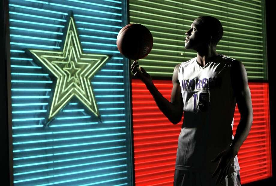 WINTER 2012 All Area Team:  Taurean Waller-Prince, Warren basketball, photographed at the Institute of Texan Cultures. Photo: HELEN L. MONTOYA, San Antonio Express-News / ©SAN ANTONIO EXPRESS-NEWS