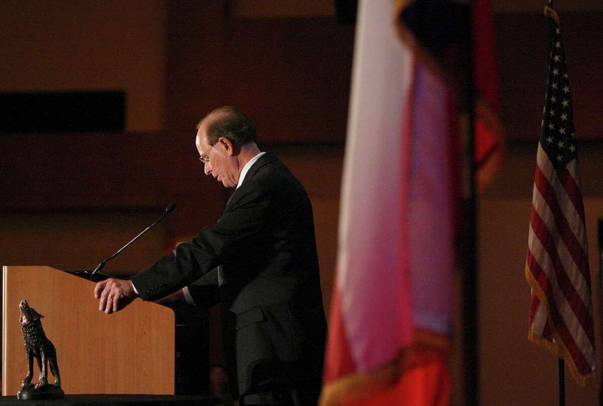County Judge Nelson Wolff delivered the annual State of the County speech on Wednesday Oct. 24, 2012.