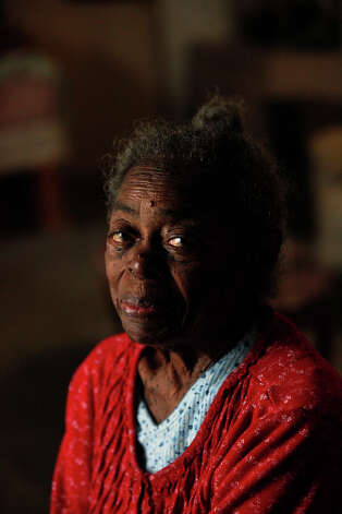 "Beatrice ""Aunt Bea"" Gee Beaty, 95, was the oldest resident in the historic community of Pelham. I photographed ""Aunt Bea"" only twice before a fatal explosion in her temporary trailer took her life. At 95 she was still full of life which shined through her eyes and smile. Photo: San Antonio Express-News"