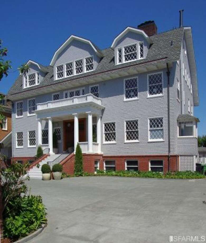 Zynga fortunes went up and down this year, but seems the Pincus family mostly landed on top, purchasing this Pac Heights home for $16 million in July or 2012. Photos via SF Gate/SFMLS.