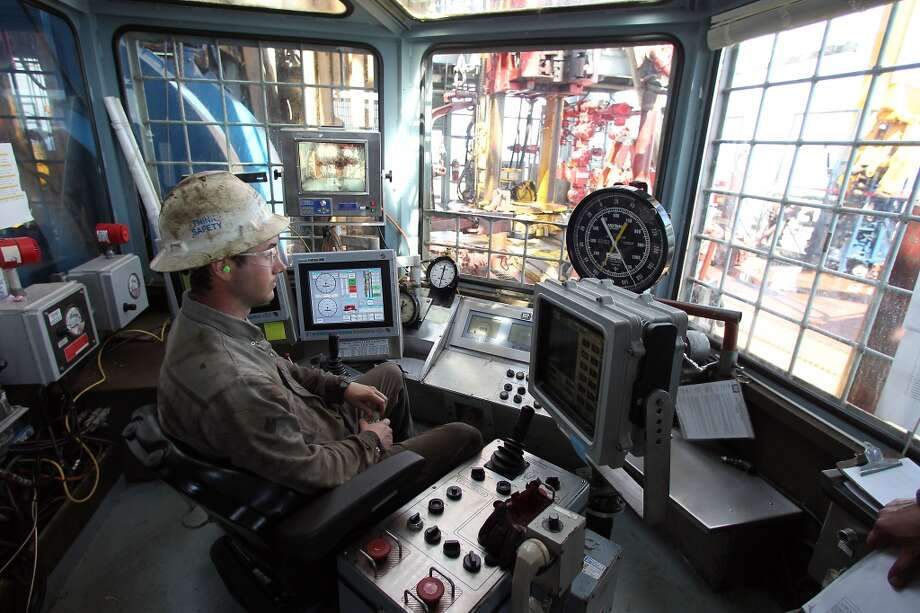 The Drilling Shack on the Shell Ursa TLP (tension leg platform) located in the Mississippi Canyon block 809 in Gulf of Mexico Wednesday, Oct. 17, 2012, in New Orleans. ( James Nielsen / Chronicle ) (Chronicle)