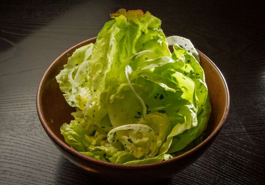 The Garden Lettuces salad at Vesta. (Special to the Chronicle)