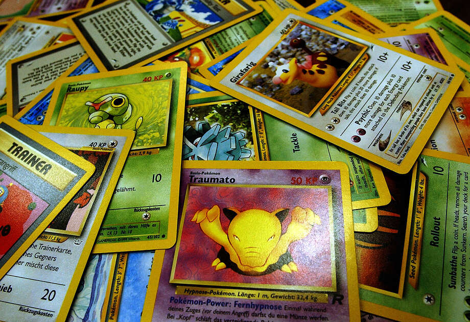 Pokemon trading cards will be available at the Pokemon City Championship at Heroes & Fantasies in Universal City. Photo: File Photo / SAN ANTONIO EXPRESS-NEWS