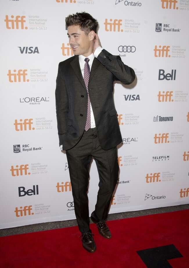Actor Zac Efron attends the At Any Price premiere during the Toronto International Film Festival on Sunday Sept. 9, 2012, in Toronto.  (Photo by Arthur Mola/Invision/AP) (Arthur Mola/Invision/AP)