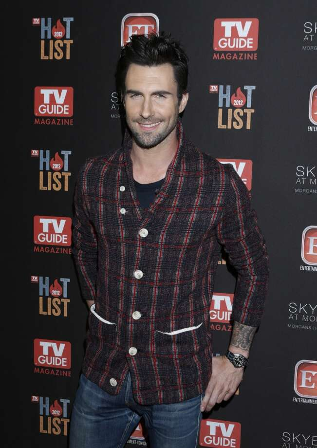Adam Levine attends TV Guide Magazine's 2012 Hot List Party at Skybar at the Mondrian Hotel on November 12, 2012 in West Hollywood, California.  (Photo by Todd Williamson/Invision/AP Images) (Todd Williamson/Invision/AP)