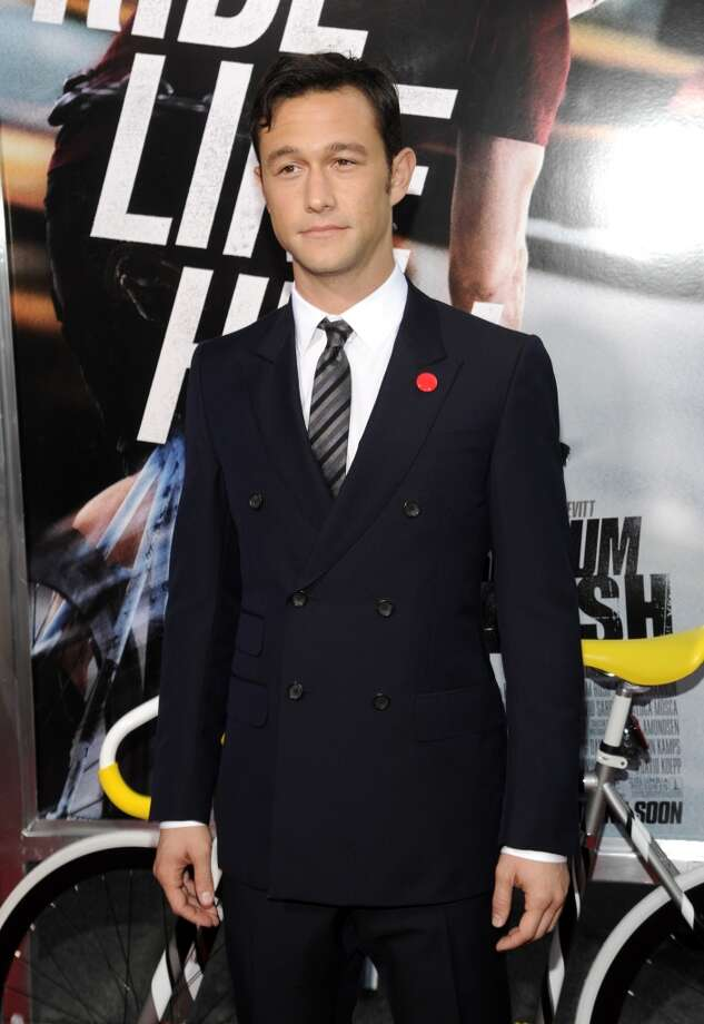 Actor Joseph Gordon-Levitt attends the world premiere of Premium Rush at the Regal Union Square Theaters on Wednesday Aug. 22, 2012 in New York. (Photo by Evan Agostini/Invision/AP) (Evan Agostini /Invision/AP)
