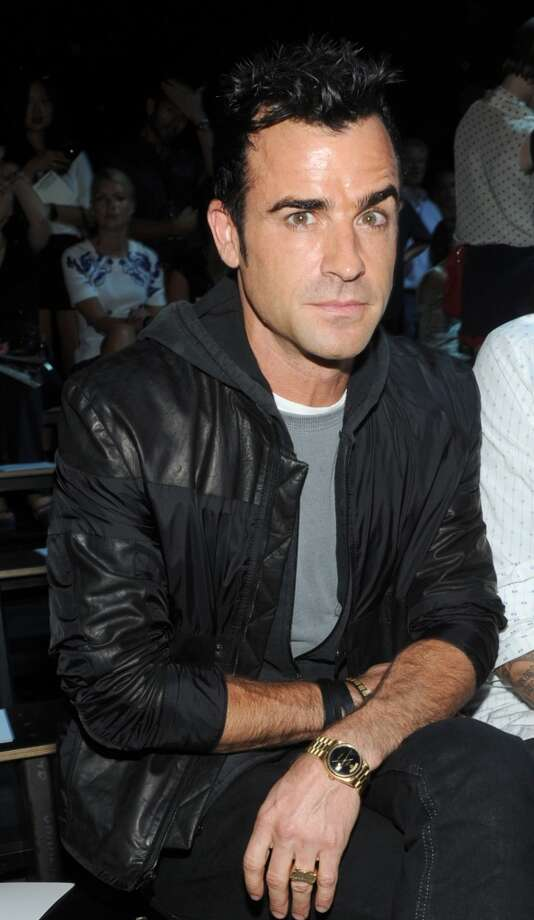 Justin Theroux attends the Alexander Wang spring 2013 show, ,Saturday, Sept. 8, 2012, during Fashion Week in New York. (Photo by Diane Bondareff/Invision/AP Images) (DIANE BONDAREFF/INVISION/AP)