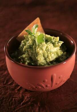 SOUTH30_07_JOHNLEE.JPG APRIL 24, 2008: Guacamole for Jacqueline Higuera McMahan's South to North column on Cinco de Mayo. BY JOHN LEE / SPECIAL TO THE CHRONICLE