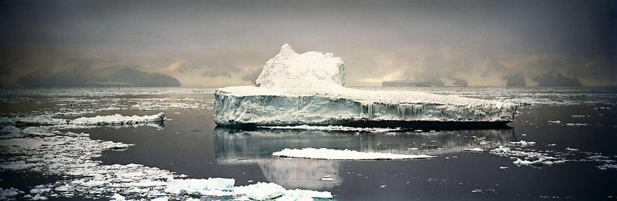 Crumbling Iceberg, Cape Adare Antarctica 2007